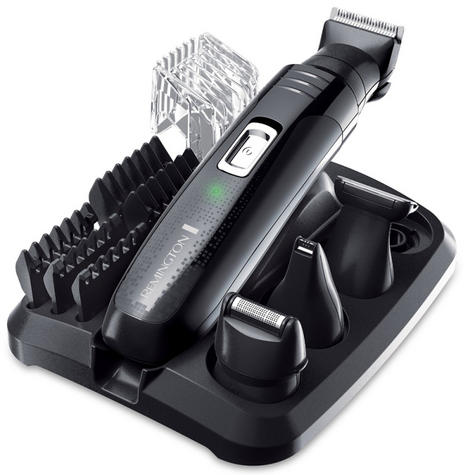 Remington PG6130|Men's Hair|4 in 1|Cordless|Shaving|Trimmer|Clipper|Grooming Kit Thumbnail 2