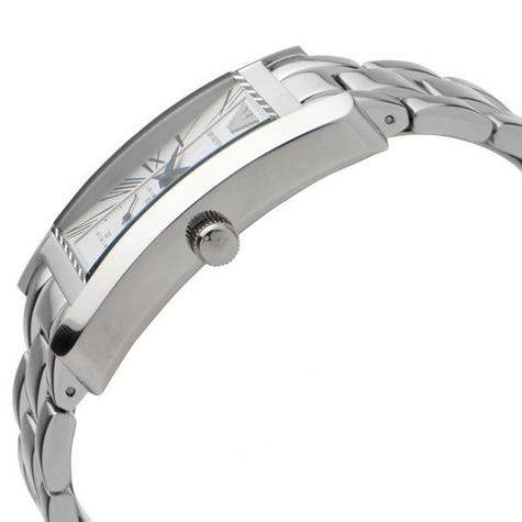 Emporio Armani Classics Men's Watch | Silver Square Dial | Stainless Steel | AR0145 Thumbnail 3
