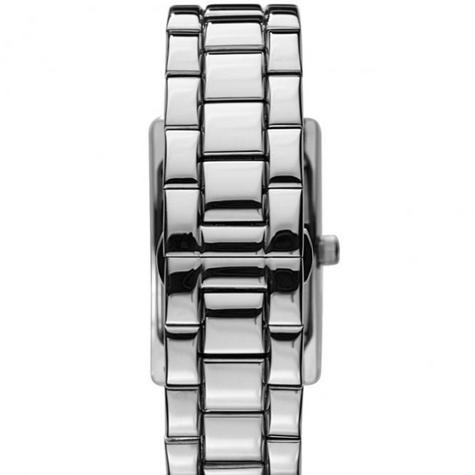 Emporio Armani Classics Men's Watch | Silver Square Dial | Stainless Steel | AR0145 Thumbnail 4