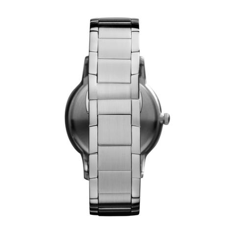 Emporio Armani Gent's Black Dial Stainless Steel Classic Sportivo Watch AR2457 Thumbnail 4