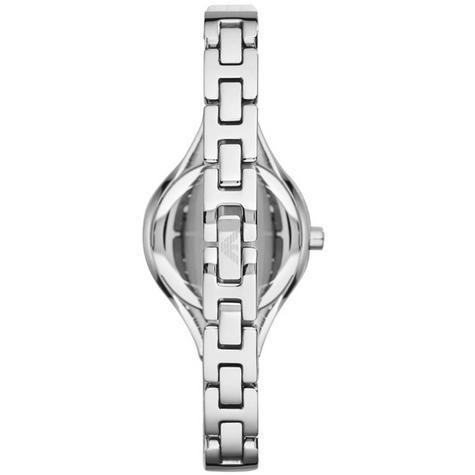 Emporio Armani Ladies' Petite Mother of Pearl Round Dial Bracelet Watch AR7353 Thumbnail 4