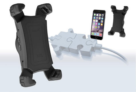BURY UNIVERSAL 3XL Swivel Mount With Bluetooth Interface & Hands-Free Car Kit Thumbnail 2