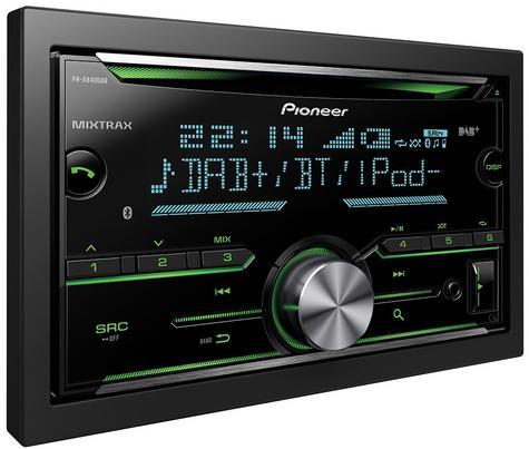 Pioneer FH-X840DAB 2-Din Bluetooth Spotify DAB/DAB+ USB CD AUX iPhone Android Thumbnail 2