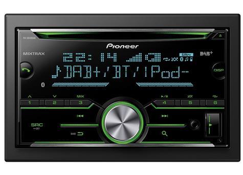 Pioneer FH-X840DAB 2-Din Bluetooth Spotify DAB/DAB+ USB CD AUX iPhone Android Thumbnail 3