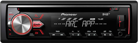 Pioneer DAB Radio InCar Stereo?CD?MP3?USB?Aux?Flac?Direct iPod-iPhone-Android Thumbnail 2