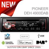 Pioneer DAB Radio InCar Stereo?CD?MP3?USB?Aux?Flac?Direct iPod-iPhone-Android