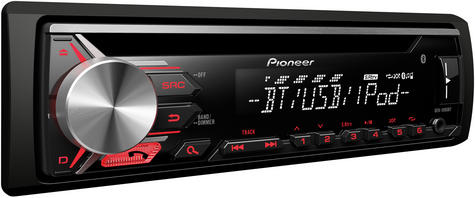 Pioneer DEH-3900BT Car Stereo Bluetooth USB CD MP3 AUX Supports Apple Android Thumbnail 3