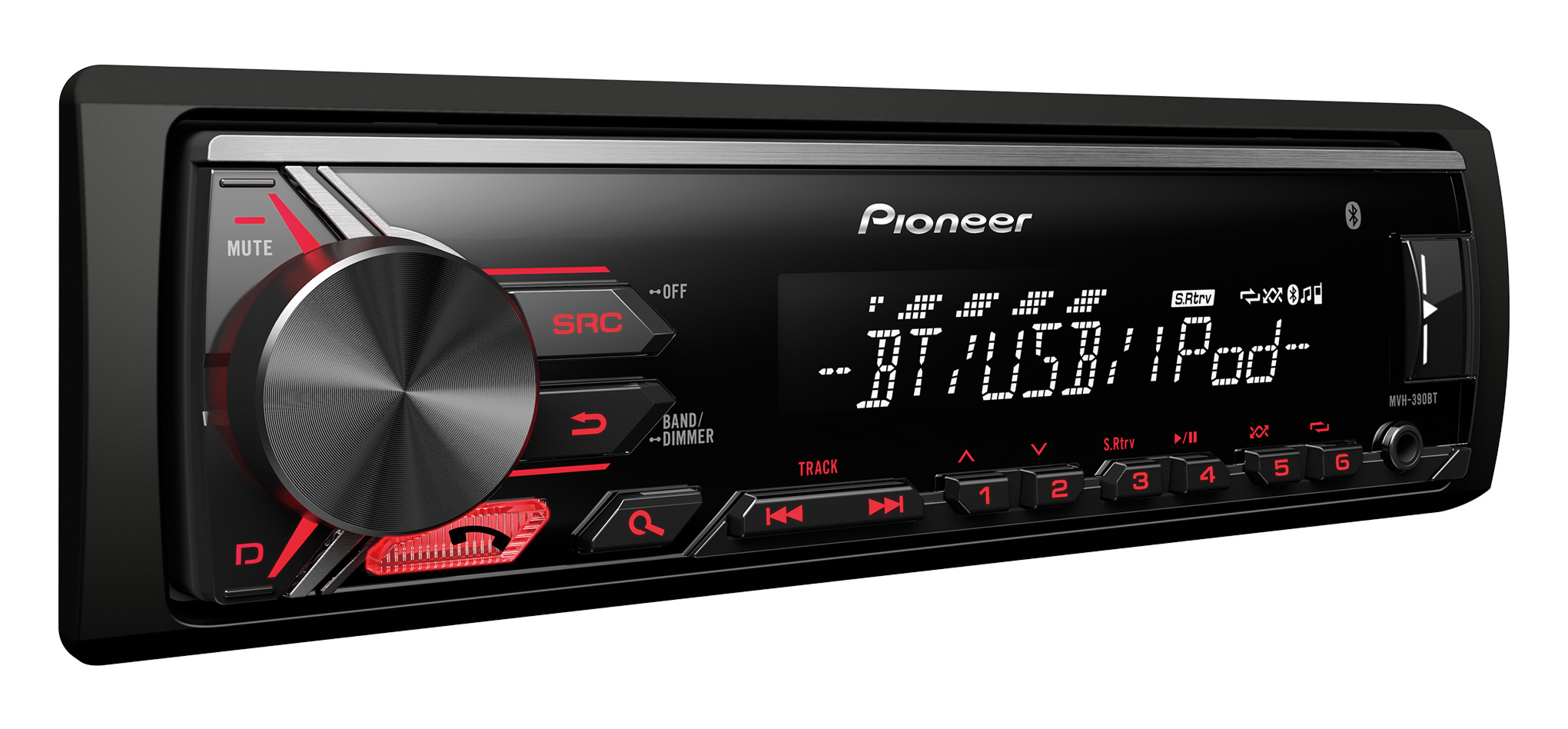 pioneer car stereo with rds tuner bluetooth usb aux in for ipod iphone android sustuu. Black Bedroom Furniture Sets. Home Design Ideas