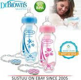 Dr Brown's New Improved Baby Options Milk Formula 270ml Bottle With Soother Pink