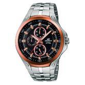 Casio Men's Analog Edifice Stainliess Steel Chronograph Scratch-Resistant Watch