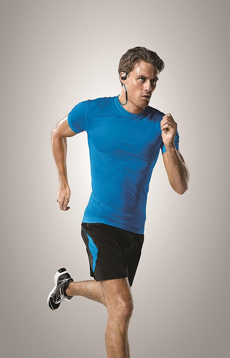 Jabra Sport Pace Wireless Bluetooth In Ear Buds Sports Running Earbuds Blue Earphones Thumbnail 8
