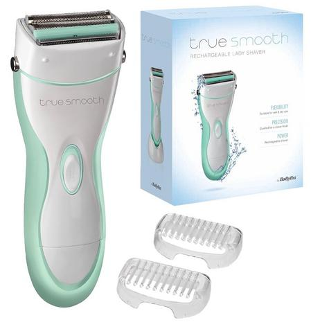 Babyliss True Smooth|Ladies|Wet & Dry|Rechargeable Hair Removal Shaver|8770BU| Thumbnail 5
