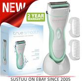 Babyliss True Smooth|Ladies|Wet & Dry|Rechargeable Hair Removal Shaver|8770BU|
