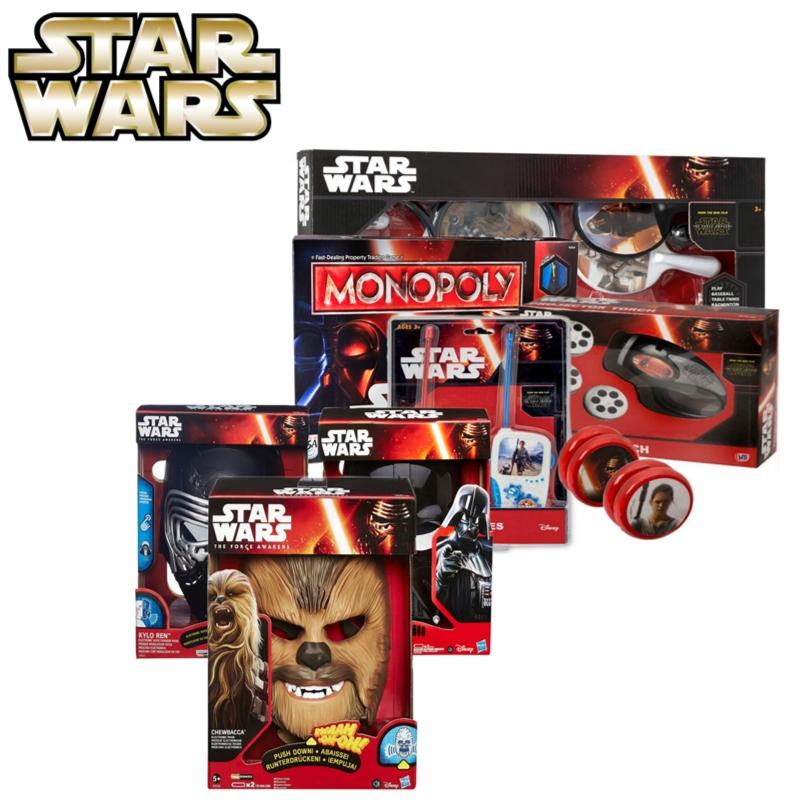 Star Wars The Force Awakens Choose Darth Vader Helmet/ Monoplay Game/ Fun Yo-Yo