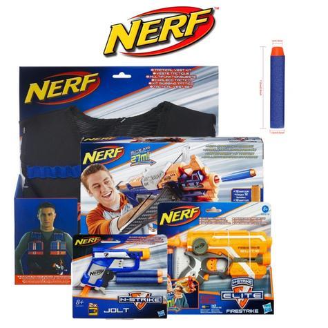 Nerf Kids N-Strike Firestrike Blaster Fun Game Tacticle Outdoor Boy Activity Toy Thumbnail 1