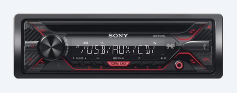Sony CDX G1202U Car Stereo Front USB/Aux/MP3 Player Green Key Illumination 4x55w Thumbnail 2
