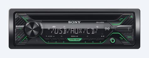Sony CDX G1202U Car Stereo Front USB/Aux/MP3 Player Green Key Illumination 4x55w Thumbnail 3