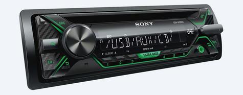 Sony CDX G1202U Car Stereo Front USB/Aux/MP3 Player Green Key Illumination 4x55w Thumbnail 4