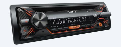 Sony CDX G1202U Car Stereo Front USB/Aux/MP3 Player Green Key Illumination 4x55w Thumbnail 6