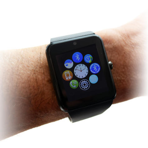 """NEW Bluetooth Smart Android Watch with 2G & Camera 1.54"""" TFT Touchscreen Screen Thumbnail 3"""