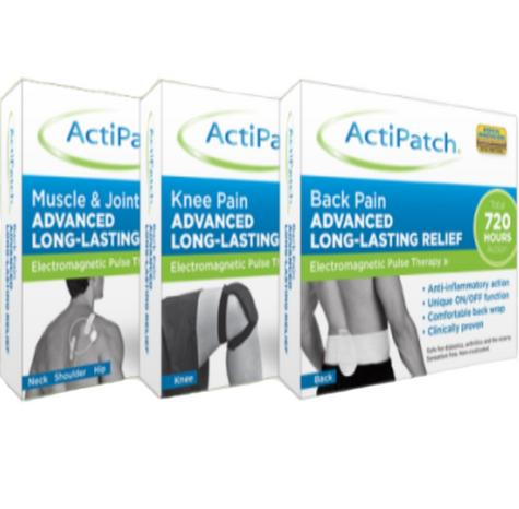 ActiPatch Electromagnetic Pulse Therapy Lasting Pain Relief for Muscle & Joints Thumbnail 2