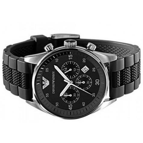 Emporio Armani Sportivo Gent's Stainless Steel Chronograph Watch AR2460 Thumbnail 3