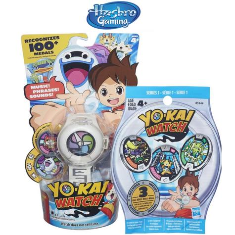 YO-KAI Watch & Series 1 Medals Blind Bag Toy by Hasbro Collectable Anime Thumbnail 1