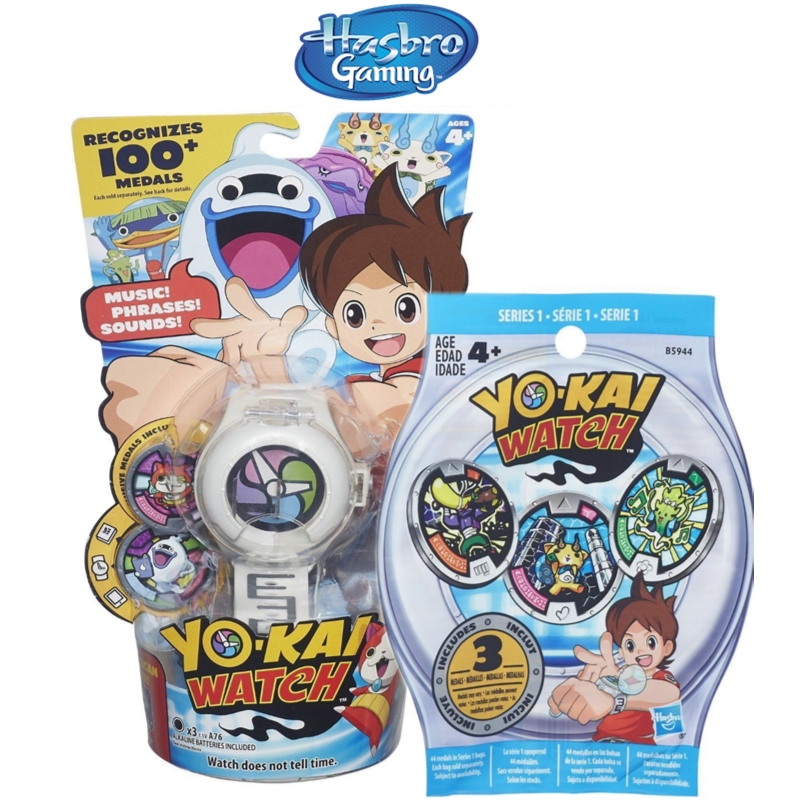 Hasbro Collectable Anime Select YO-KAI Watch Or Series 1 Medals Blind Bag Toy
