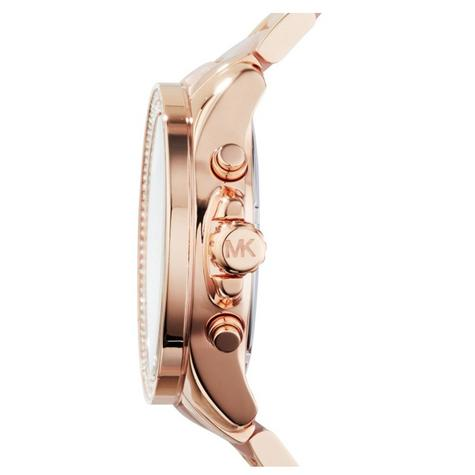 Michael Kors Wren Ladies Watch|Pavé Crystal Rose Gold Dial|Bracelet Band|MK6096 Thumbnail 3