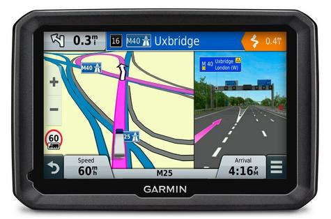 "Garmin DEZL 770 D 7"" Business Edition Truck HGV GPS SATNAV 3 Yeras Warranty NEW Thumbnail 1"