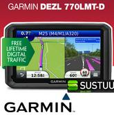 "Garmin DEZL 770 D 7"" Business Edition Truck HGV GPS SATNAV 3 Yeras Warranty NEW"