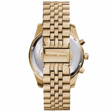 Michael Kors Gent's Lexington Gold Tone Stainless Steel Chronograph Watch MK8446 Thumbnail 2