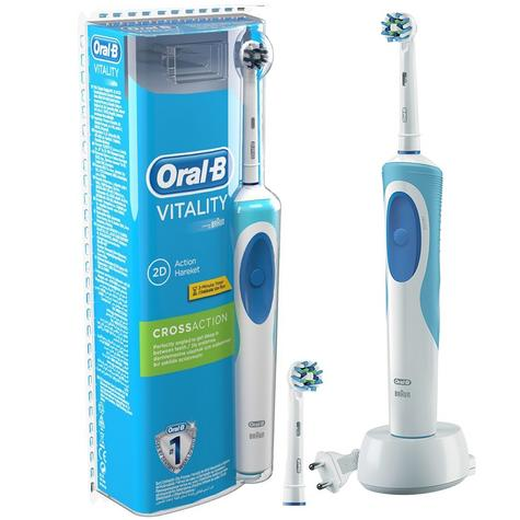 Oral-B Pro?Vitality Cross Action?Electric Rechargeable Toothbrush?2 Min. Timer Thumbnail 3