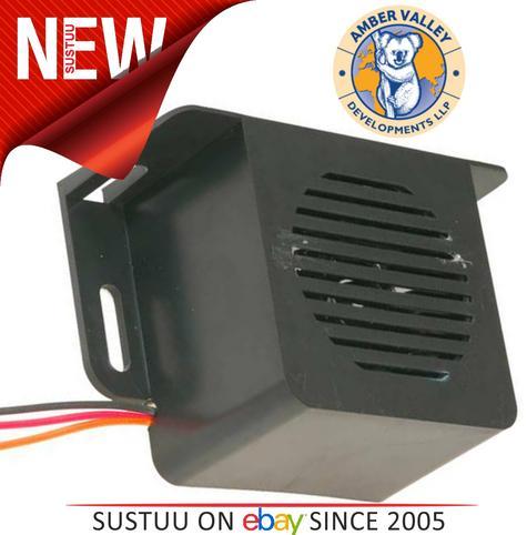 AMBER VALLEY AVR95 SPEC Square 12/24V Speaking Turn Left Alarm 1YEAR WARRANTY Thumbnail 1