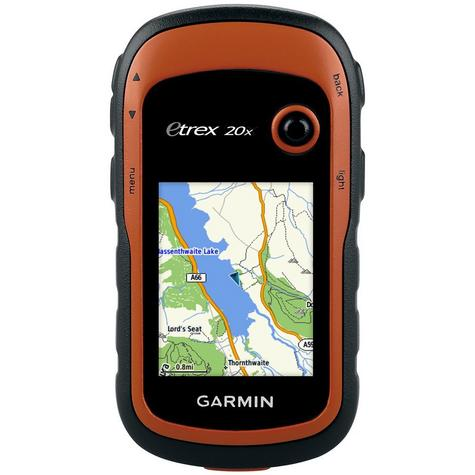 Garmin Etrex 20x Outdoor Handheld GPS-GLONASS Hiking-Walking *Worldwide Basemap Thumbnail 2