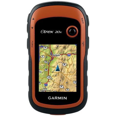 Garmin Etrex 20x Outdoor Handheld GPS-GLONASS Hiking-Walking *Worldwide Basemap Thumbnail 3