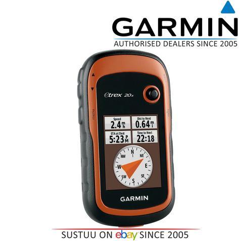 Garmin Etrex 20x Outdoor Handheld GPS-GLONASS Hiking-Walking *Worldwide Basemap Thumbnail 1