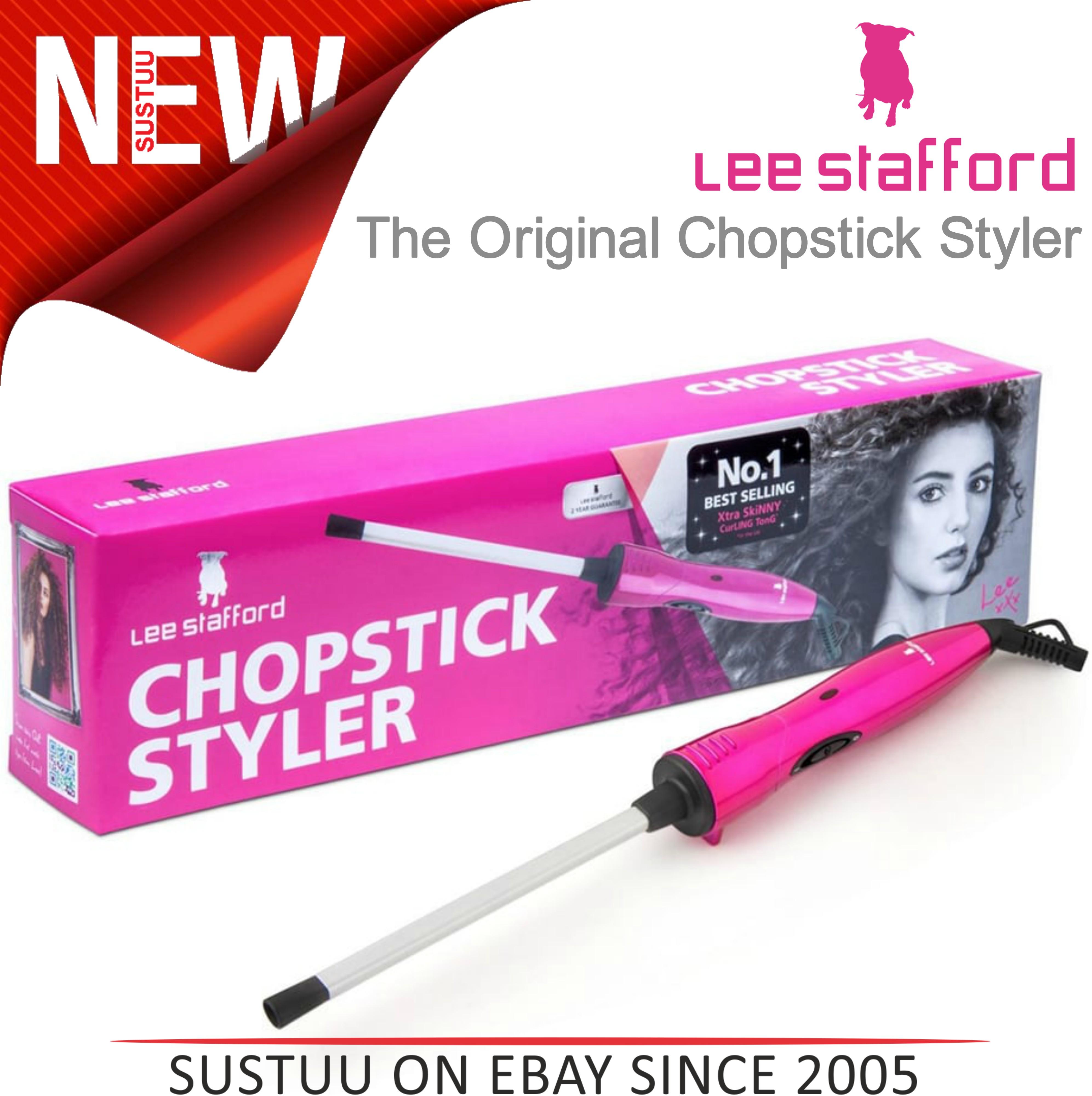 Lee Stafford The Original Chopstick Styler??Hair Curler?200° Curling Wand?LSHT01