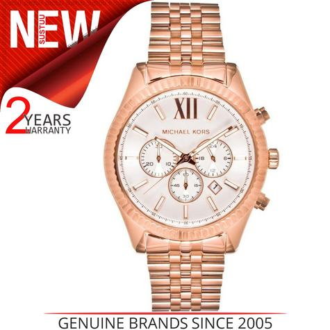 Michael Kors Gent's Lexington Gold Tone Stainless Steel Chronograph Watch MK8313 Thumbnail 1