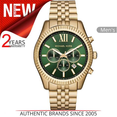Michael Kors Lexington Gent's Watch?Chronograph?Gold Tone Stainless Steel?MK8446 Thumbnail 1