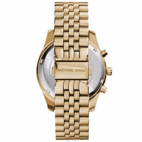 Michael Kors Lexington Gent's Watch?Chronograph?Gold Tone Stainless Steel?MK8446 Thumbnail 3