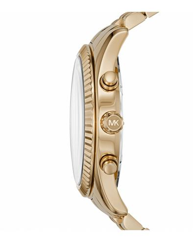 Michael Kors Lexington Gent's Watch?Chronograph?Gold Tone Stainless Steel?MK8446 Thumbnail 4
