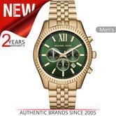 Michael Kors Lexington Gent's Watch?Chronograph?Gold Tone Stainless Steel?MK8446