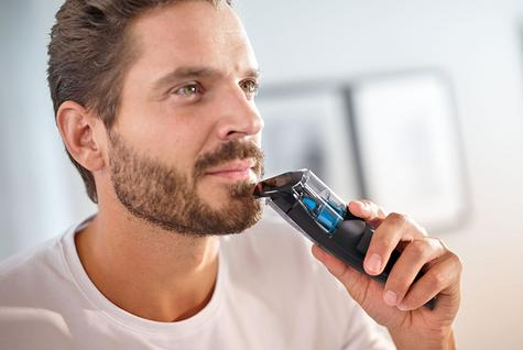 Philips Series 7000 | Men's Beard & Stubble Vacuum Hair Trimmer | Cordless | BT7202/13 Thumbnail 6