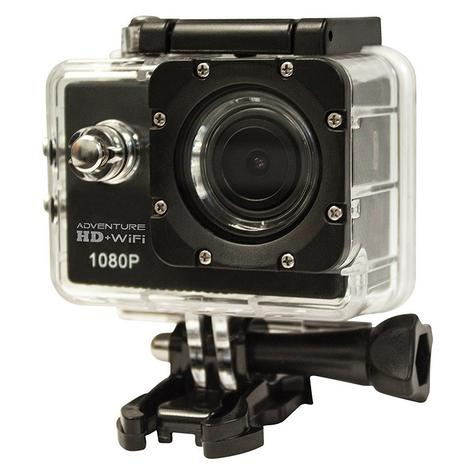 Cobra Adventure HD 5210 Wi-Fi|Action Camera 1080p|Waterproof <30Mtr|Underwater-Other Sports Recording Thumbnail 2