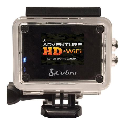 Cobra Adventure HD 5210 Wi-Fi|Action Camera 1080p|Waterproof <30Mtr|Underwater-Other Sports Recording Thumbnail 5