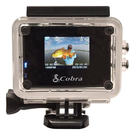 Cobra Adventure HD 5210 Wi-Fi|Action Camera 1080p|Waterproof <30Mtr|Underwater-Other Sports Recording Thumbnail 6