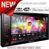 "Pioneer AVH 290BT|6.2"" Radio/CD/DVD/MP3/WMA/AAC|iPod iPhone Android|Car Stereo"
