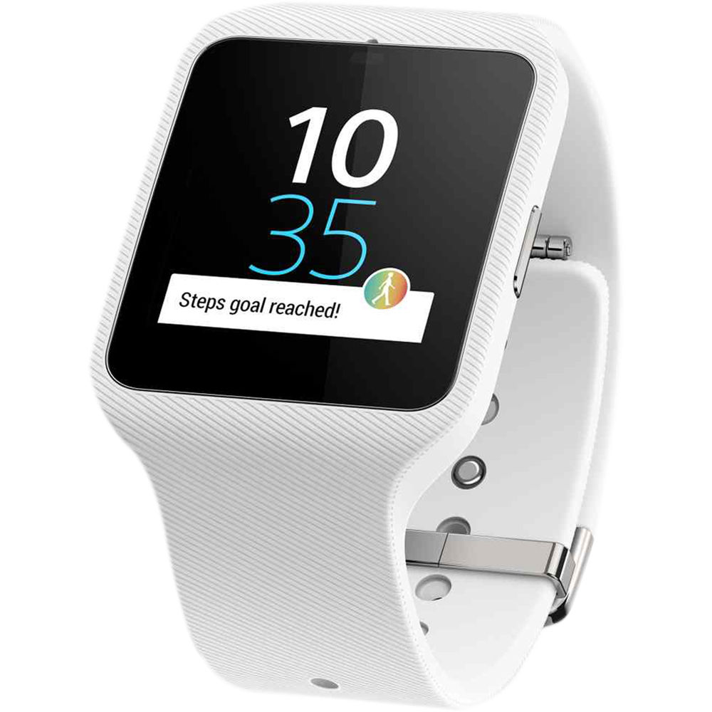 sony smartwatch 3 swr50 androidwear gps sports fitness activity tracker white sustuu. Black Bedroom Furniture Sets. Home Design Ideas