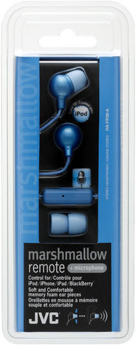 JVC Marshmallow Stereo Earphone with REMOTE Control Mic?Apple Android Smartphone Thumbnail 2